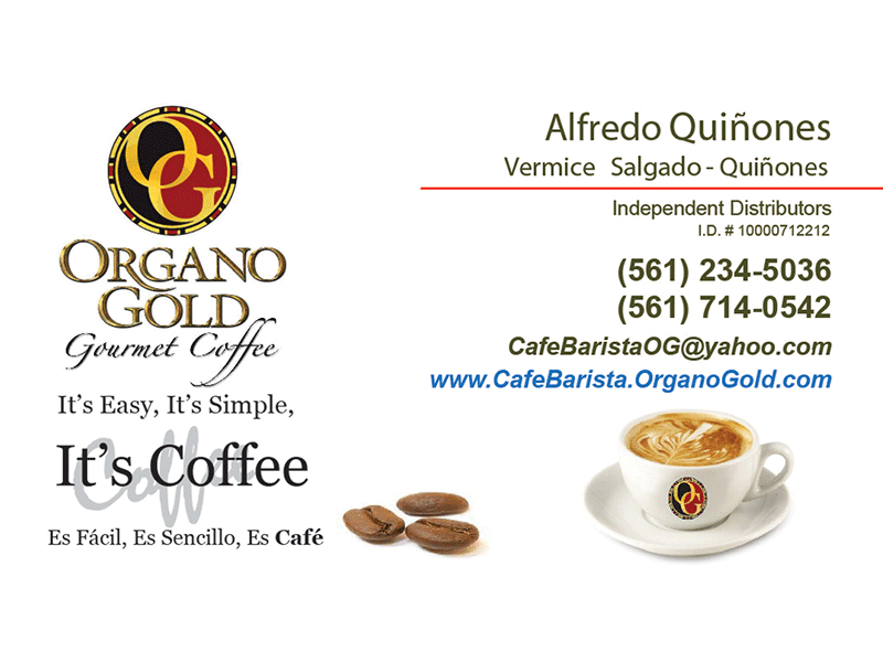 Beautiful Organo Gold Business Cards Pictures Inspiration ...