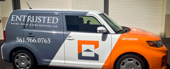 Entrusted Scion Vehicle Wrap