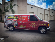 Flemmings Carpet Cleaning West Palm Beach Fleet Van Wrap_-4