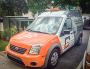 Entrusted Water Mold & Fire Experts Ford Transit Vehicle Wrap (2 of 3)